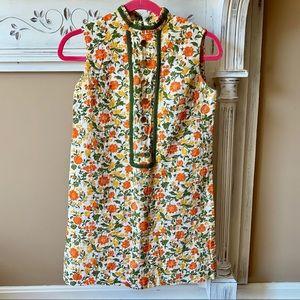 Vintage 60s Mod Floral Shift Dress